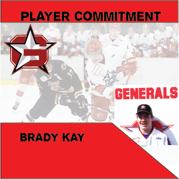 Player Commitment – Brady Kay