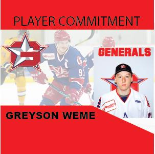 Player Commitment – Greyson Weme